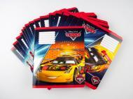 Комплект зошитів Міцар скоба 18 арк лінія Серія Cars 20 шт (249570)