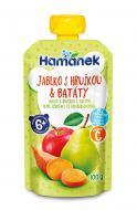 Пюре Hamanek Яблуко з грушею і бататом 100 г