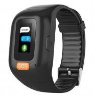 Часы GPS-трекер для пожилых людей Smart Band S3M с пульсометром, двухсторонним голосовым вызовом, си
