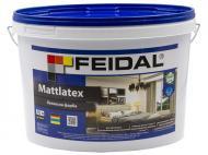 Фарба латексна Feidal Mattlatex мат білий 10л