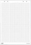 Блок бумаги для флипчарта 20 л. 99х66 см в клетку B05/M 2х3