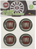 Наліпка TERRAPLUS на ковпаки та диски Fiat 55 мм 4 шт.