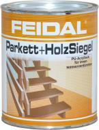 Лак паркетний Acryl Parkett+Holzsiegel Feidal шовковистий глянець 0,75 л