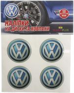 Наліпка TERRAPLUS на ковпаки та диски Volkswagen 50 мм
