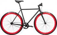 Велосипед Pure Fix Echo чорно-червоний рама - 53 см