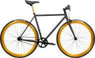 Велосипед Pure Fix India черно-золотистый рама - 53 см
