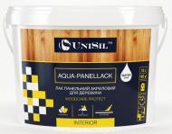 Лак панельний Aqua-Panellack UniSil шовковистий мат прозорий 3 л 3кг