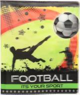 Обкладинка для зошитів і щоденників Футбол 3D Полімер