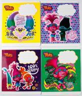 Комплект зошитів Міцар скоба 18 арк клітинка Серія Тролі 20 шт (288618)