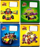 Комплект зошитів Міцар Ц697014У скоба 12 арк лінія Mickey Mouse 25 шт (267428)