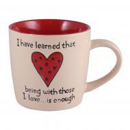 Чашка Big Heart Beige 470 мл M0420-K339C Milika