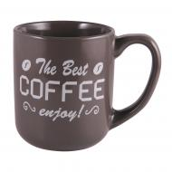 Чашка Enjoy Gray 500 мл M0420-K3954G Milika