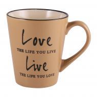 Чашка Love&Live Sandy 410 мл M0420-K142Y Milika