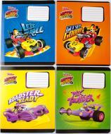 Комплект зошитів Міцар Ц697013У скоба 12 арк клітинка Mickey Mouse 25 шт (267427)