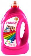 Гель для машинной и ручной стирки For my Family FOR MY FAMILY для цветных вещей 4 л