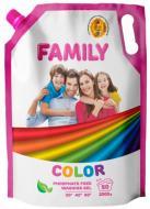 Гель для машинного та ручного прання For my Family FOR MY FAMILY для кольорових речей 2 л
