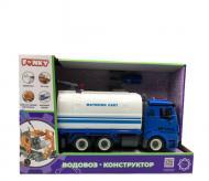 Автоконструктор Funky Toys Водовоз з набором інструментів FT61117