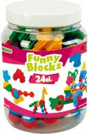 Конструктор Тигрес Funny Blocks 24 элемента 41940