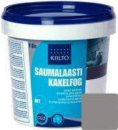 Фуга KIILTO Kesto 44 1 кг темно-сірий