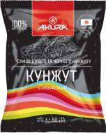 Кунжут Akura суміш білого та чорного 50 г (4820178460163)