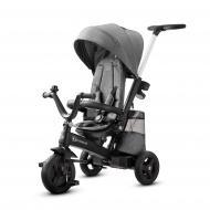 Велосипед-коляска Kinderkraft Easytwist платиновый серый