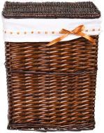 Кошик плетений з текстилем Tony Bridge Basket 37x27x48 см HQ13-10AB-2