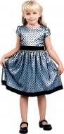 Сукня Sasha р.122 блакитний із чорним 4096/1
