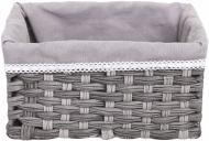 Кошик плетений з текстилем Tony Bridge Basket 29x19x15 см JC16-3AB-5