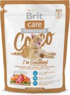 Корм Brit Care Cocco I am Gourmand з качкою та лососем 400 г
