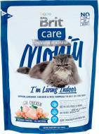 Корм Brit Care Кет Monty I am Living Indoor з куркою та рисом 400 г