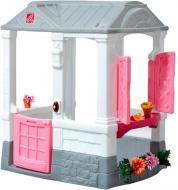 Ігровий набір Step 2 Дитячий будиночок Courtyard Cottage рожевий 733538778799