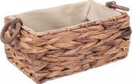 Кошик плетений Tony Bridge Basket з текстилем 32х22х14 см XTA19-61RD-2