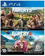 Гра Sony Комплект «Far Cry 4» + «Far Cry 5» [PS4, Russian version]