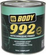 Ґрунт антикорозійний 992 1K чорний Body 1кг