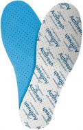 Стельки Lahti Pro антибактериальные (хлопок / латекс, толщина 3 мм) р.46 L9030345-St1 голубой