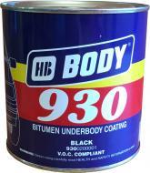 Мастика антикорозійна Body 930 1 кг чорний