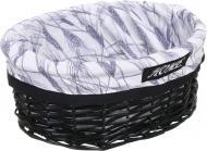 Кошик плетений Tony Bridge Basket з текстилем 35х25х16 см HQN20-3CD-4