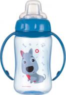 Поїльник-непроливайка Canpol Babies Cute Animals з м'яким носиком і ручками 320 мл песик