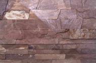 Камінь KLVIV піщаник Опілля червоне 30 мм 0,5 кв.м
