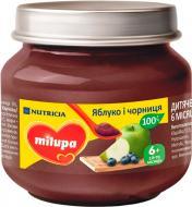 Пюре Milupa Яблуко-чорниця
