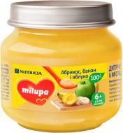 Пюре Milupa Яблоко банан и абрикос