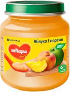 Пюре Milupa Яблуко і персик 125 г