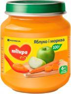 Пюре Milupa Яблуко і морква 125 г
