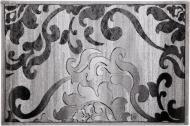 Килим Arka Carpet Omega S сірий 1,5x2,2 м