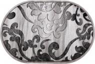 Килим Arka Carpet Omega O сірий 1,5x2,2 м
