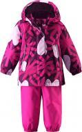 Костюм зимний Reima (куртка + брюки на подтяжках) Misteli 513100–4901 86 см бордовый р. 86 бордовый