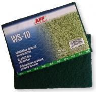 Волокно абразивне дрібнозернисте APP зелене 155x230мм, 10 шт.