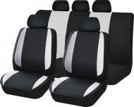 Комплект чохлів на сидіння універсал Auto Assistance TY1624-1 чорний із сірим