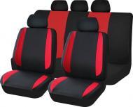 Комплект чохлів на сидіння універсал Auto Assistance TY1624-2 чорний із червоним