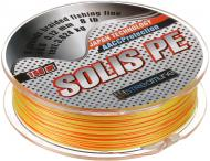 Шнур Solis X8 yellow-red SL 150м 0.12мм 3.624кг НС0004393